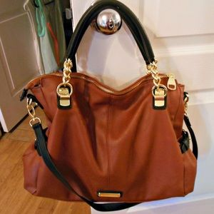 Two tone large purse